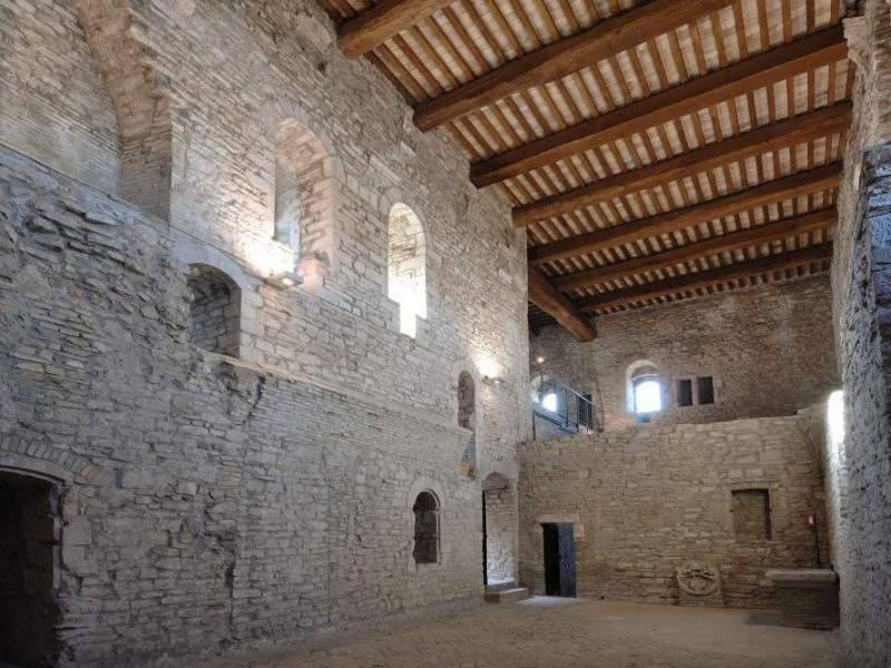Rocca Maggiore. Interno. Fedeli, Marcello; jpg; 2126 pixels; 1417 pixels