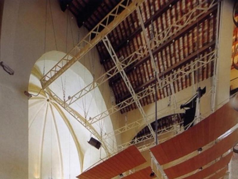 Auditorium San Domenico. Interno. L'area del  Ficola, Paolo; jpg; 576 pixels; 768 pixels