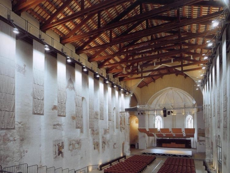 Auditorium San Domenico. Interno. La sala.  Ficola, Paolo; jpg; 768 pixels; 1024 pixels
