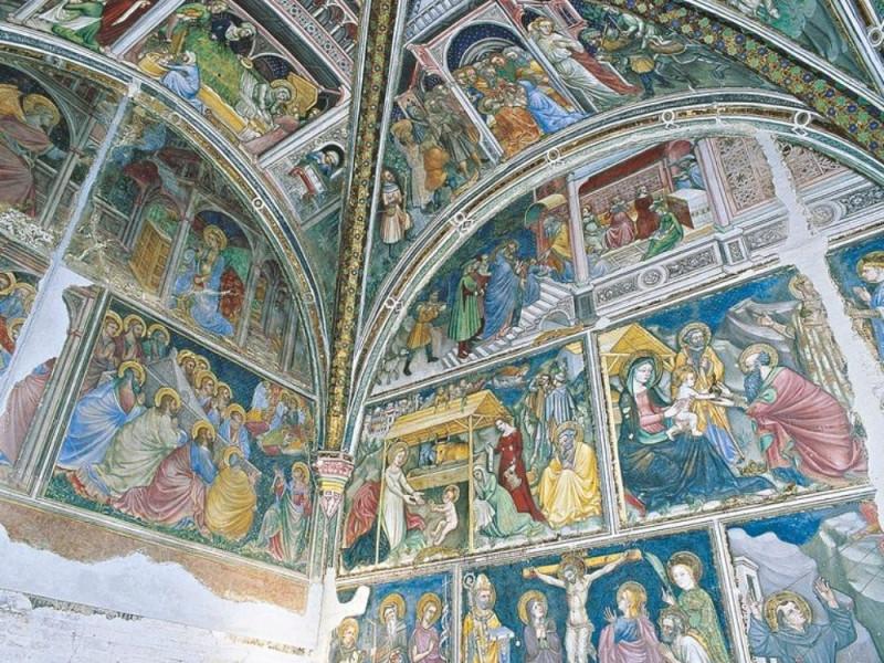 Ottaviano Nelli, Storie della Vergine, 1424 Giorgetti, Alessio/ Fedeli, Marcello/ Paparelli, Daniele; jpg; 768 pixels; 768 pixels
