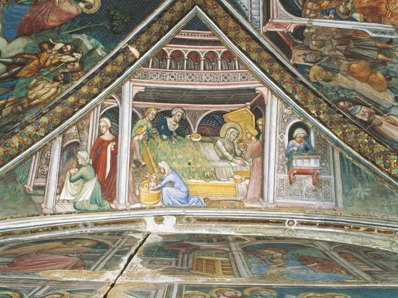 Ottaviano Nelli, Storie della Vergine, 1424 jpg; 768 pixels; 610 pixels