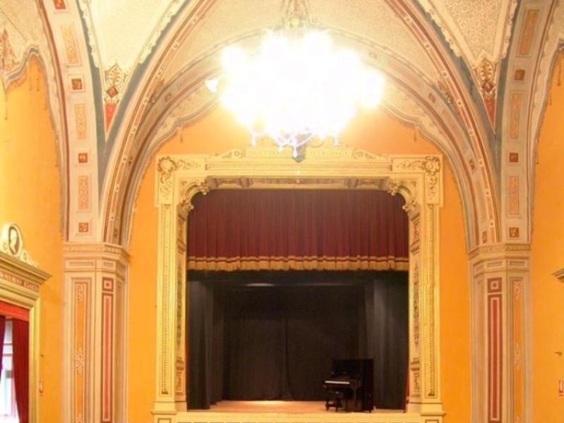 Teatro della Sapienza. Veduta del palcoscenic Bovini, Mirko
