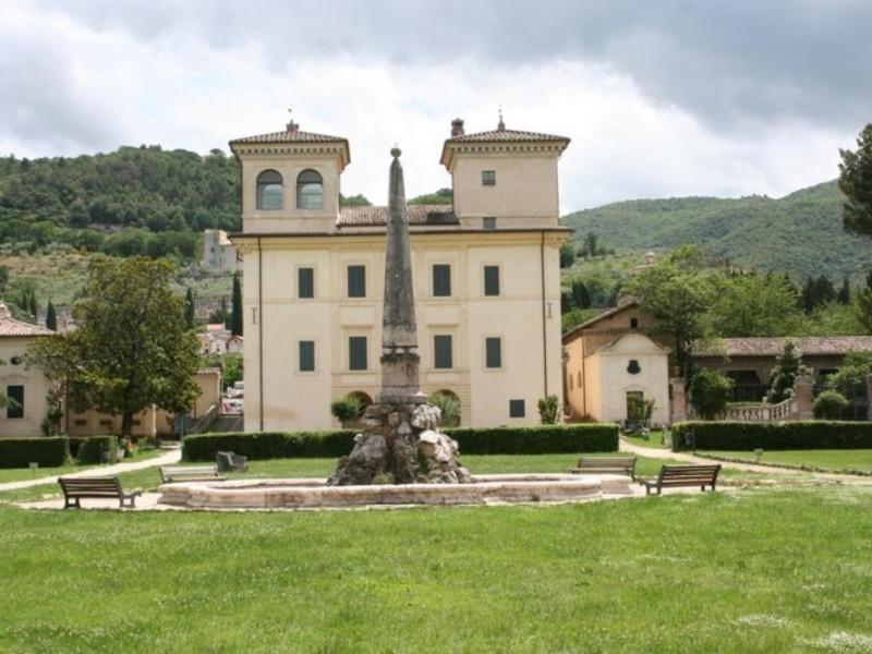 Villa Redenta. Facciata. Parco Tecnologico 3A-Progetto Ville e Giardini Regione Umbria; jpg; 768 pixels; 512 pixels