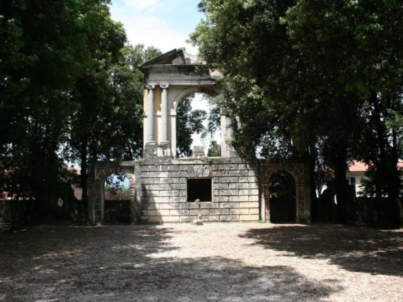 Villa Redenta. Il tempietto. Parco Tecnologico 3A-Progetto Ville e Giardini Regione Umbria; jpg; 768 pixels; 512 pixels