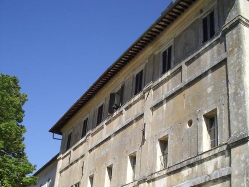 Villa Fabri. Faccita posteriore. Parco Tecnologico 3A-Progetto Ville e Giardini Regione Umbria; jpg; 576 pixels; 768 pixels
