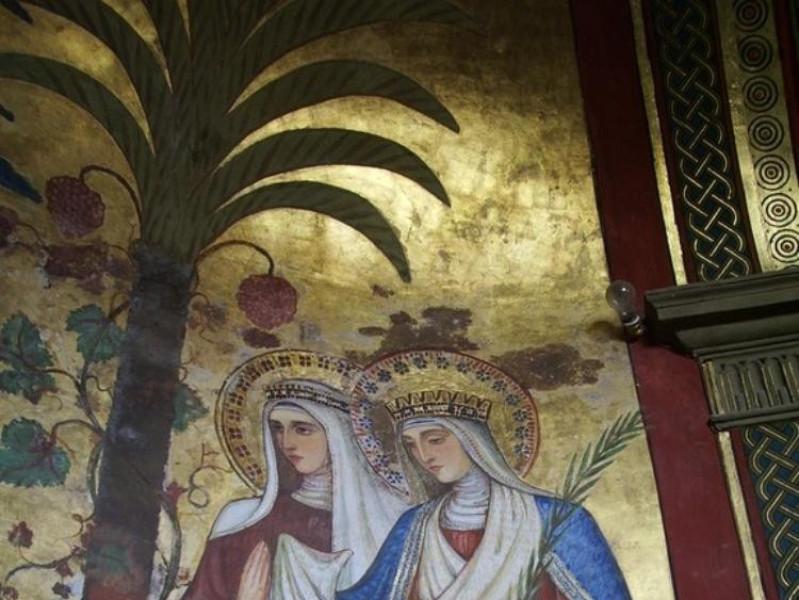 Villa Fabri. Interno. Cappella, scuola del Be Parco Tecnologico 3A-Progetto Ville e Giardini Regione Umbria; jpg; 576 pixels; 768 pixels