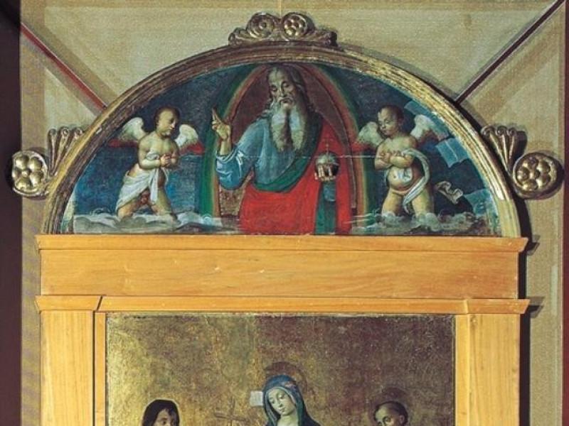 Cerchia di Sebastiano Conca. La Vergine liber jpg; 498 pixels; 768 pixels