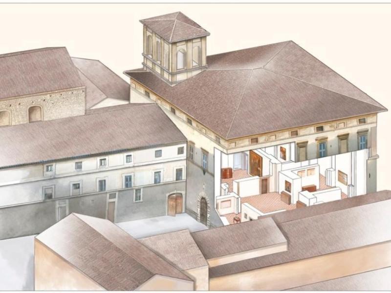 Calvi dell'Umbria. Museo di Palazzo Ferrini. ; jpg; 768 pixels; 546 pixels
