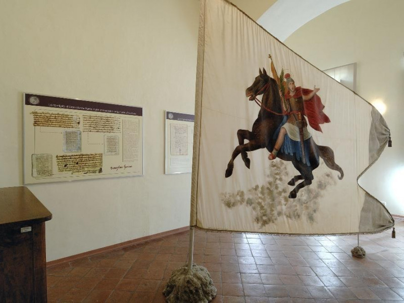 Calvi dell'Umbria. Museo di Palazzo Ferrini.  Fedeli, Marcello; jpg; 2126 pixels; 1417 pixels