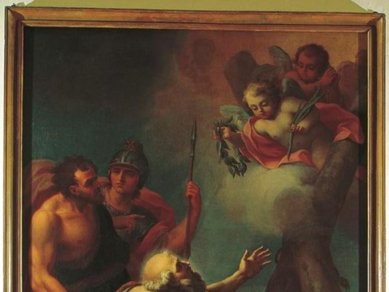 Calvi dell'Umbria. Museo di Palazzo Ferrini. jpg; 542 pixels; 768 pixels