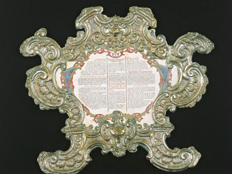 Calvi dell'Umbria. Museo di Palazzo Ferrini. jpg; 768 pixels; 651 pixels
