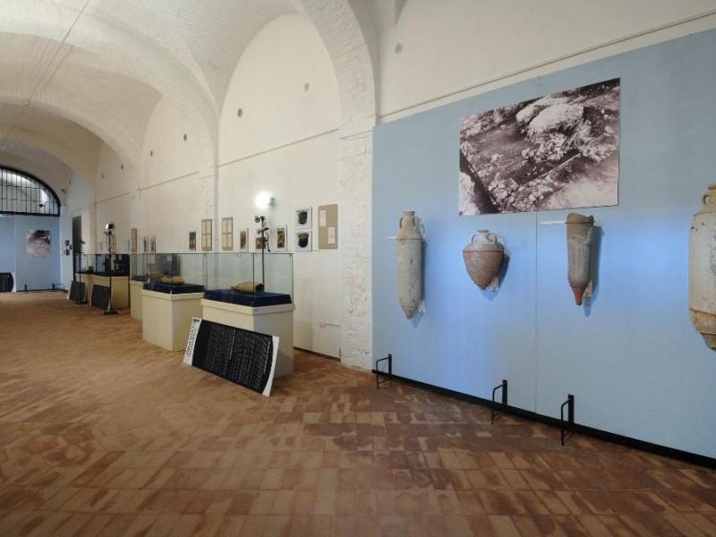 Antiquarium comunale. Interno Fedeli, Marcello; jpg; 2126 pixels; 1417 pixels