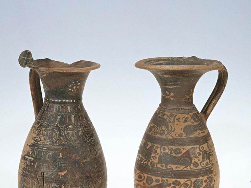 Ceramica etrusco-corinzia, VI-V secolo a.C. Bellu, Sandro; jpg; 762 pixels; 768 pixels