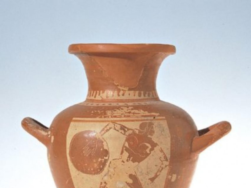 Anfora figurata etrusca, fine del VI secolo a Bellu, Sandro; jpg; 400 pixels; 470 pixels