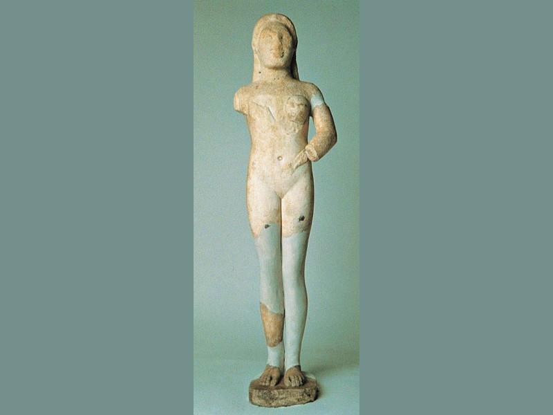 """""""Venere"""" di Cannicella, 530-520 a.C. Bellu, Sandro; jpg; 400 pixels; 998 pixels"""