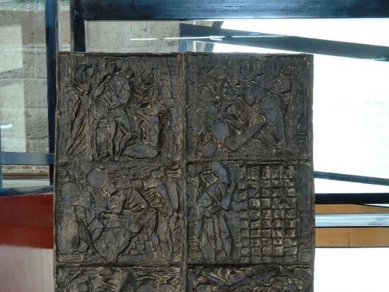 Emilio Greco. Scultura. Bozzetto del portale  jpg; 1417 pixels; 2126 pixels