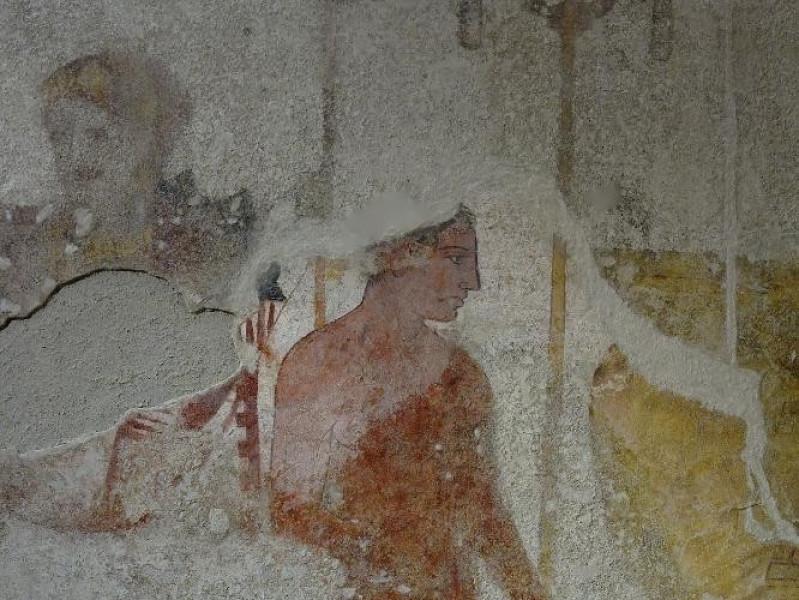 Tomba Golini. IV sec. a.C. II metà Fedeli, Marcello; jpg; 1417 pixels; 2126 pixels