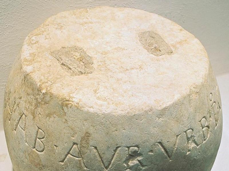 Antiquarium Comunale. Peso da bilancia per la Giorgetti, Alessio; jpg; 712 pixels; 768 pixels