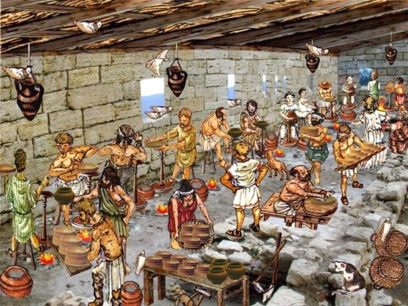 Scavo archeologico. Ricostruzione virtuale Università di Perugia – Scavo di Scoppieto; jpg; 768 pixels; 577 pixels