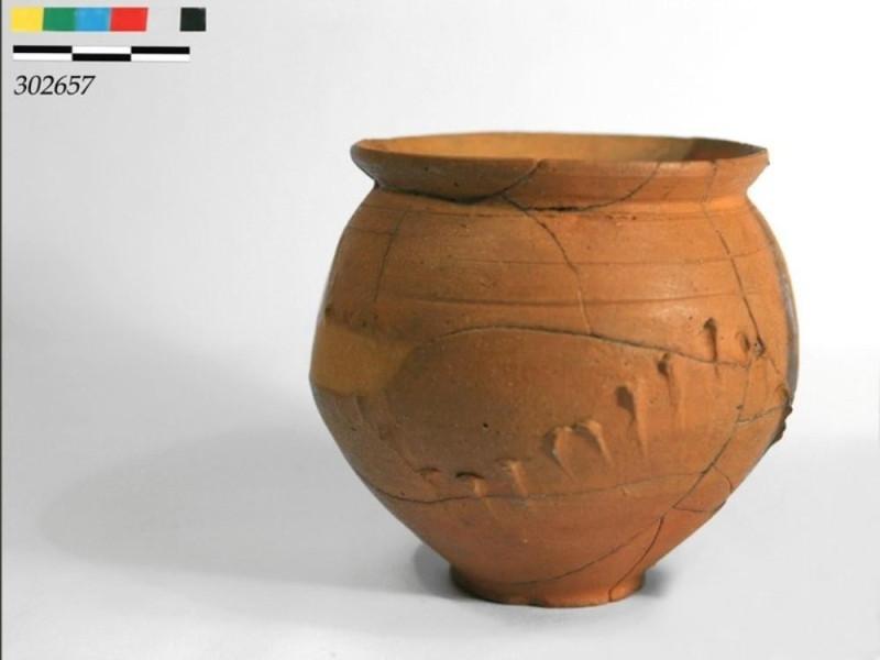 Vaso in terracotta Università di Perugia – Scavo di Scoppieto; jpg; 768 pixels; 579 pixels
