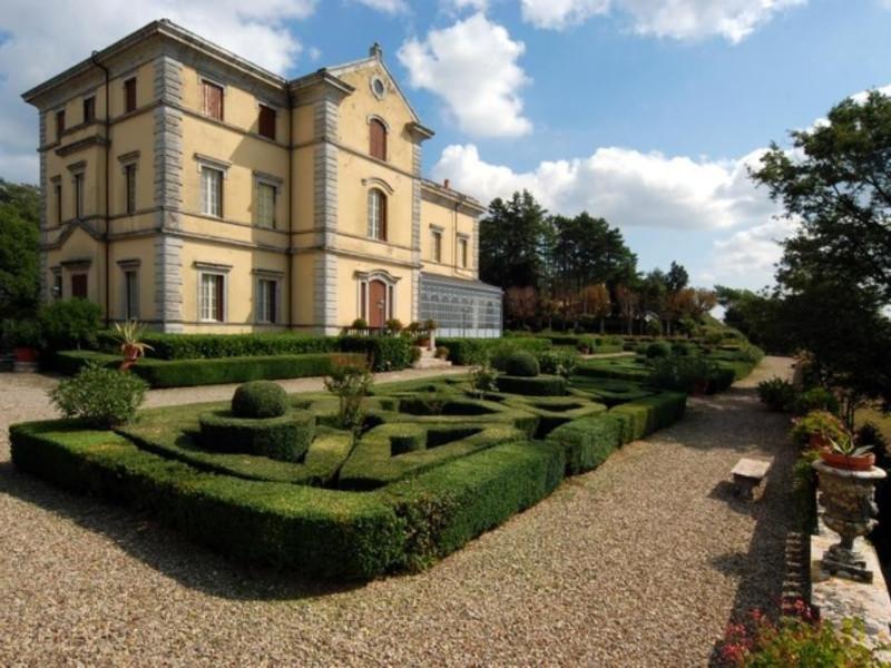 Villa Cahen. Esterno con giardini (sec. XIX). Parco Tecnologico 3A-Progetto Ville e Giardini Regione Umbria; jpg; 768 pixels; 514 pixels