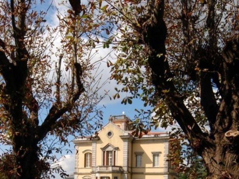 Villa Cahen. Esterno con giardini (sec. XIX). Parco Tecnologico 3A-Progetto Ville e Giardini Regione Umbria; jpg; 514 pixels; 768 pixels