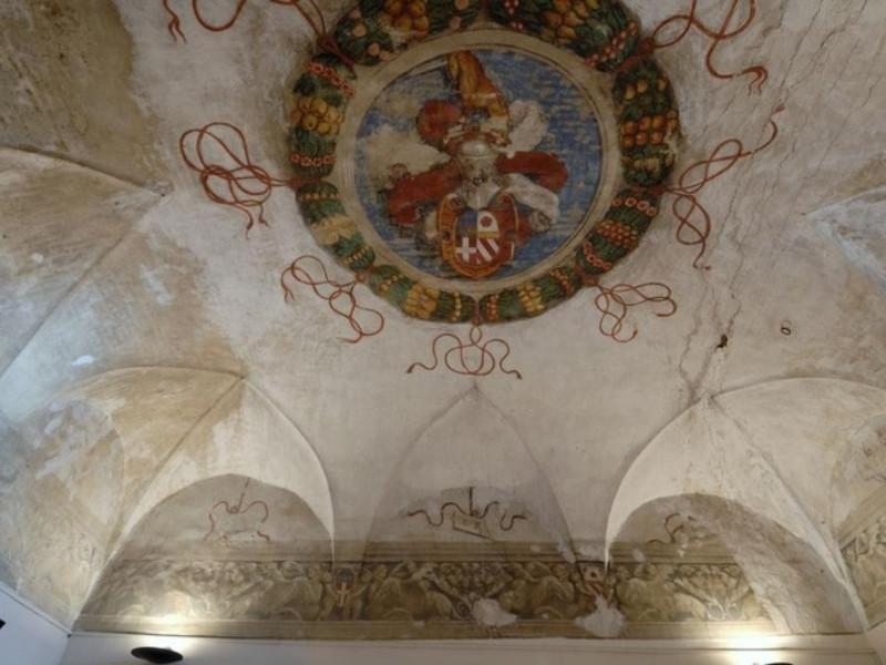 Interno. Sala espositiva. Veduta della volta. Fedeli, Marcello; jpg; 768 pixels; 511 pixels