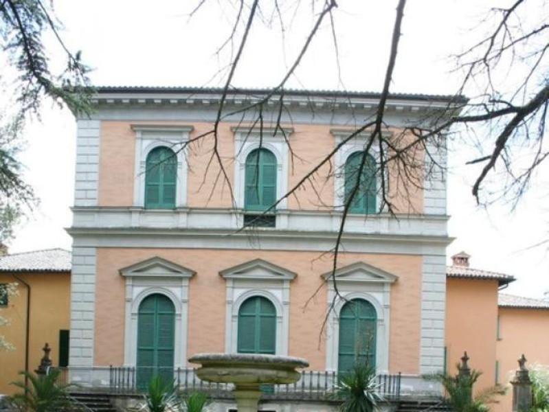 Villa Paolina. Facciata.  Parco Tecnologico 3A-Progetto Ville e Giardini Regione Umbria; jpg; 512 pixels; 768 pixels