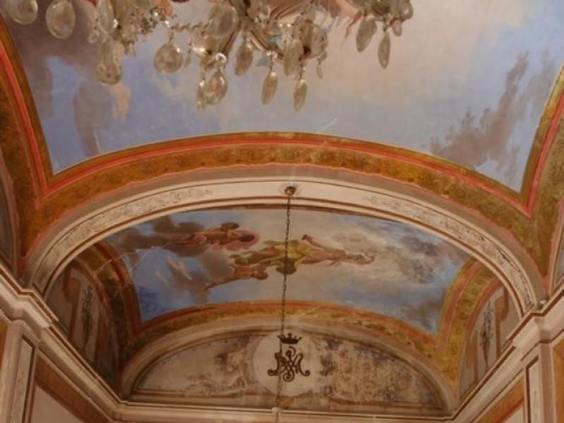 Villa Paolina. Interno. Parco Tecnologico 3A-Progetto Ville e Giardini Regione Umbria; jpg; 512 pixels; 768 pixels