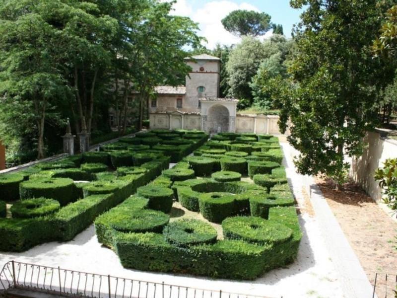 Villa Paolina. Giardino all'italiana. Parco Tecnologico 3A-Progetto Ville e Giardini Regione Umbria; jpg; 768 pixels; 512 pixels