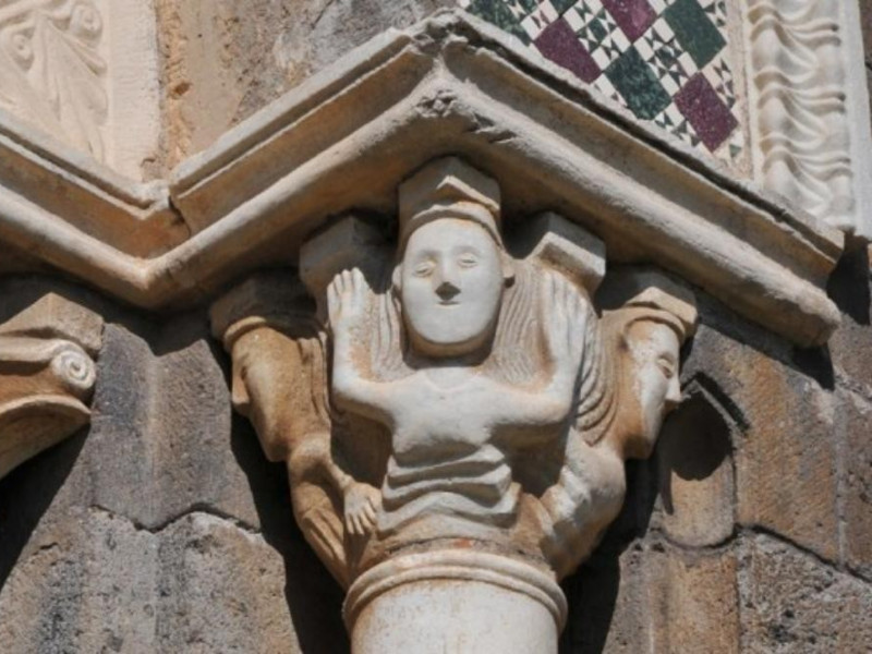 Tuscania, Chiesa San Pietro