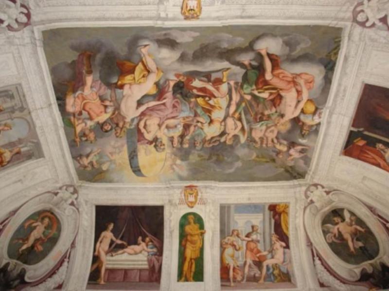 Bassano Romano, Villa Giustiniani Odescalchi