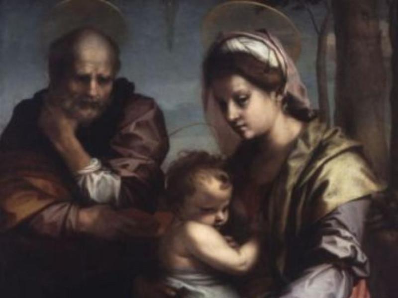 Andrea del Sarto - Sacra Famiglia