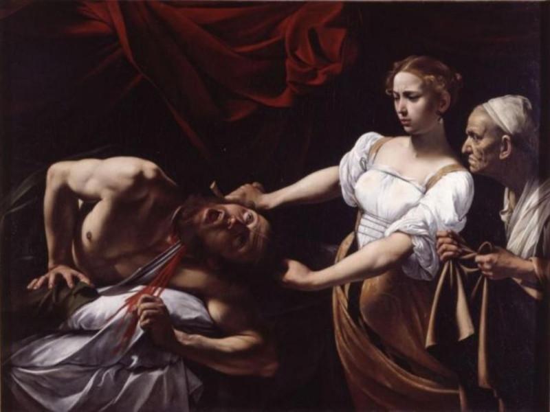 Caravaggio - Giuditta e Oloferne