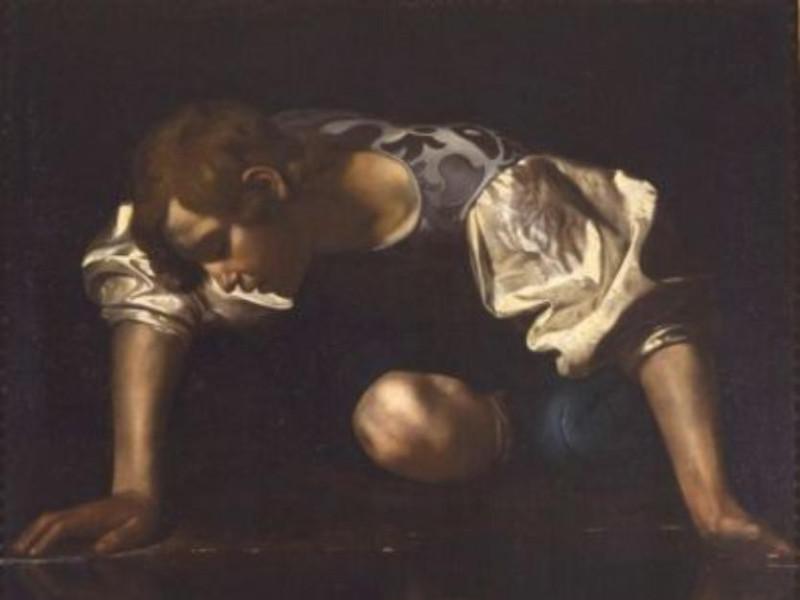 Caravaggio - Narciso