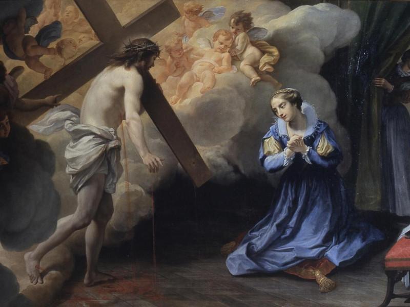 Marco Benefial - Visione di santa Caterina Fi