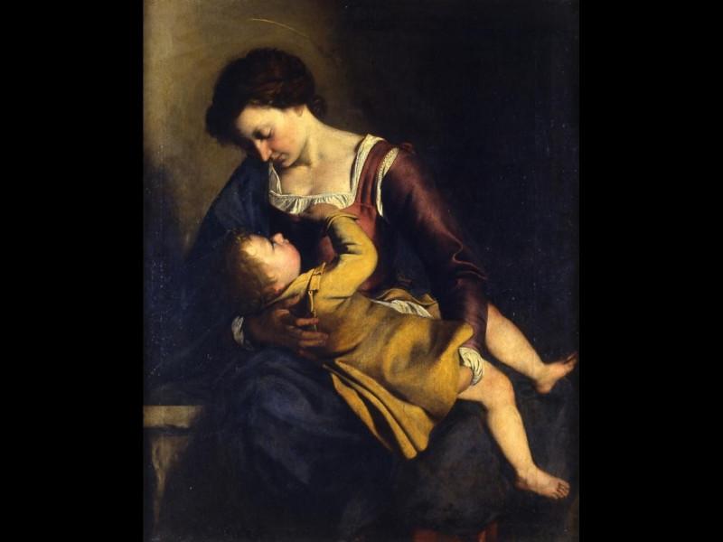 Orazio Gentileschi - Madonna col Bambino