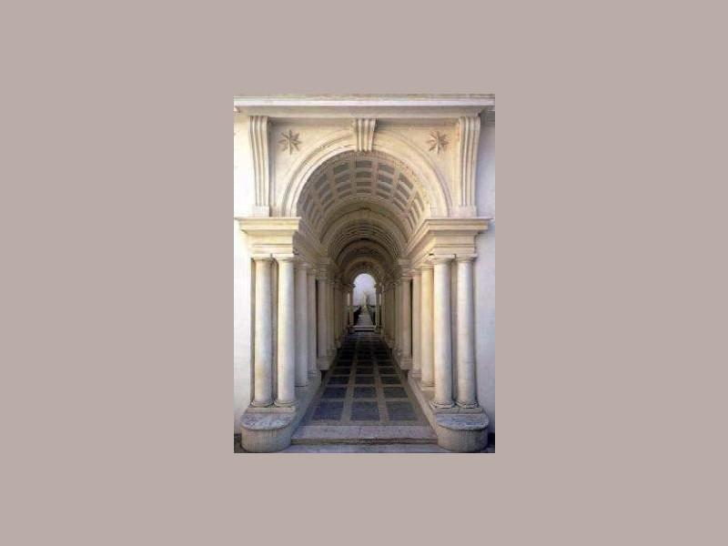 La galleria prospettica del Borromini