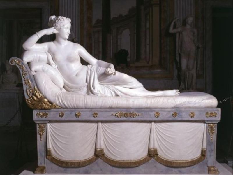 Antonio Canova - Paolina Borghese