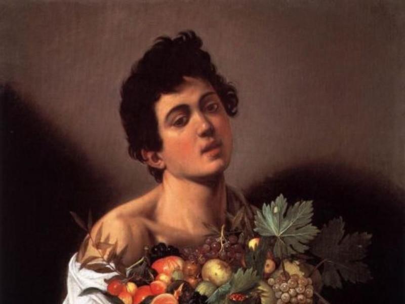 Caravaggio - Il ragazzo con la canestra di frutta