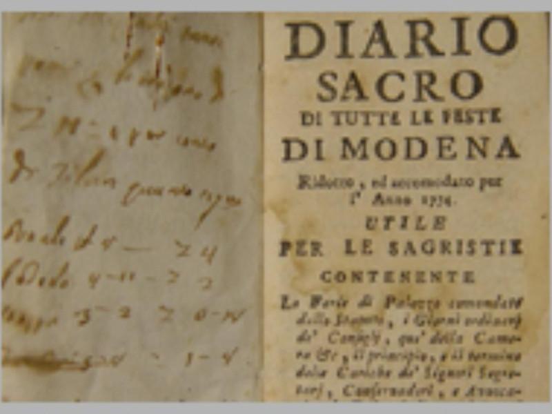 Diario sacro