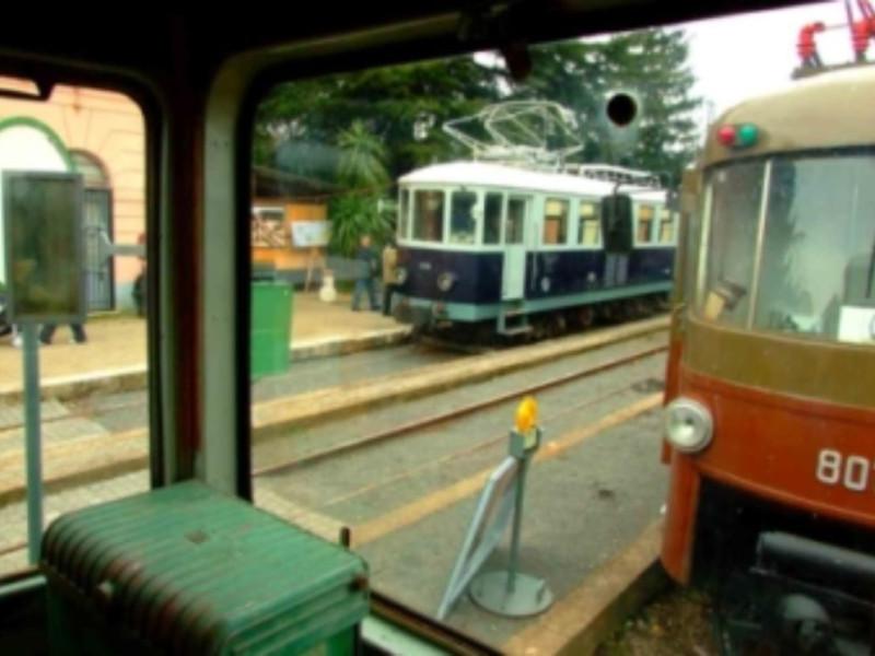 Ferrovia-museo della stazione di Colonna
