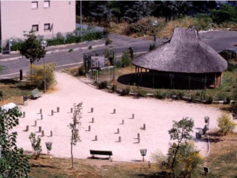 casa protostorica di Fidene