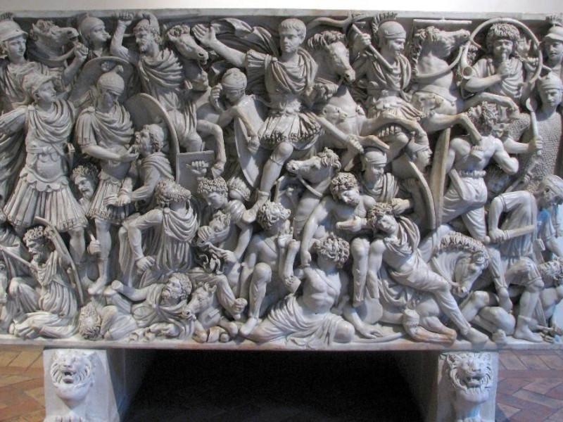 Palazzo Altemps, Sarcofago Ludovisi