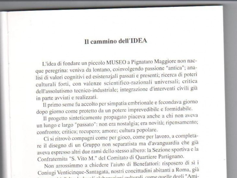 Pignataro Maggiore, Museo della Civiltà Contadina e Artigiana_Pignataro Maggiore