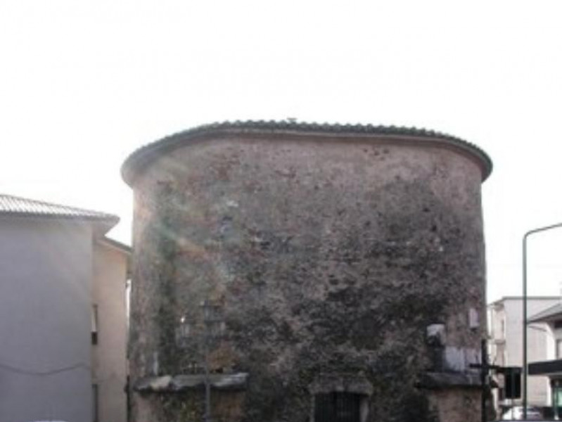 Mausoleo degli Acilii Glebriones, veduta