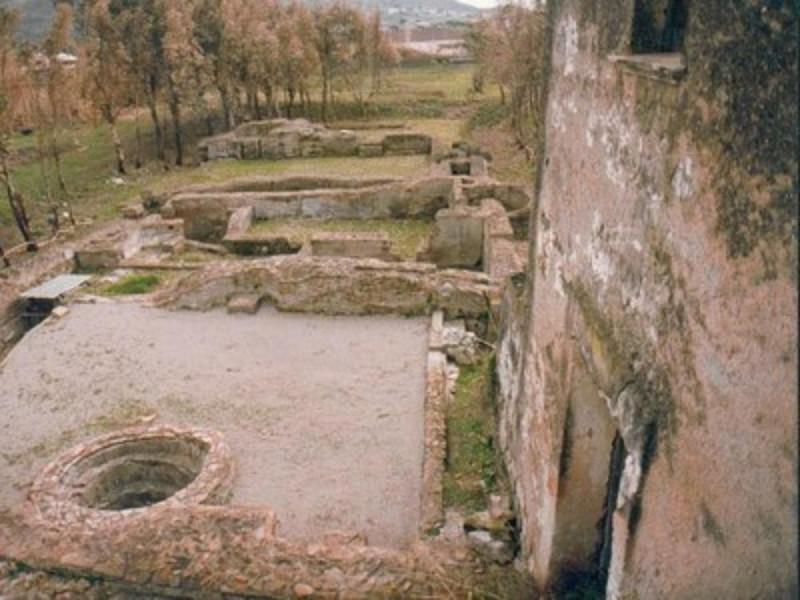 Cellole, villa romana, particolare