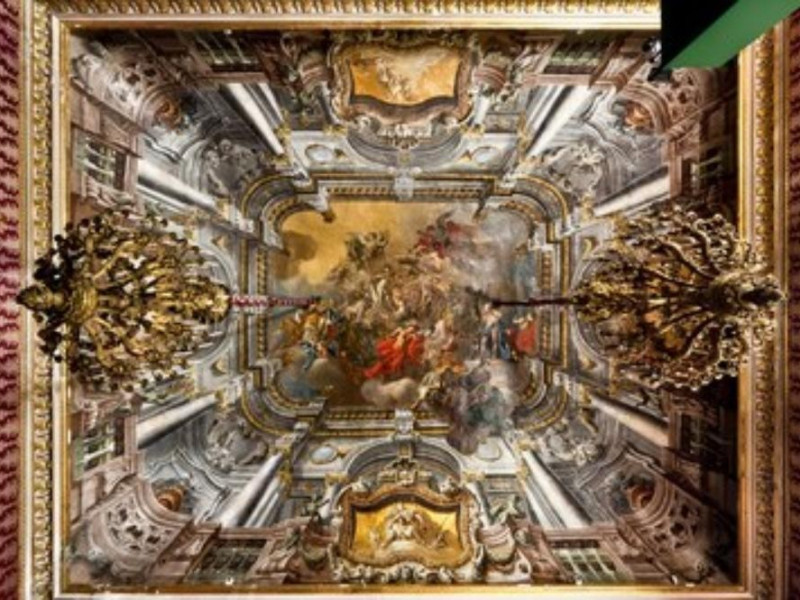 Sala Diplomatica - Francesco De Mura, Apoteos
