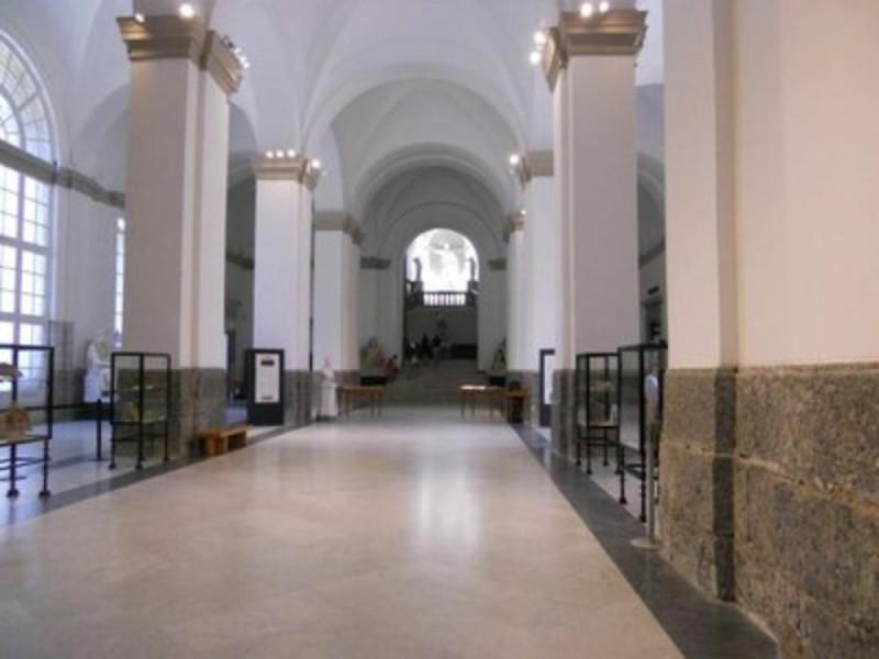 Museo Archeologico Nazionale di Napoli, Atrio