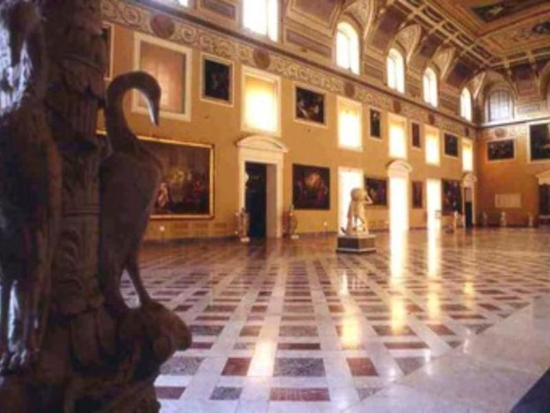 Museo Archeologico Nazionale di Napoli, Salon